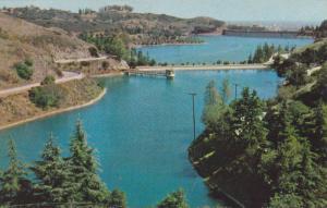 Picturesque Lake Hollywood, Hollywood Freeway At Cahuenga Pass, Hollywood, Ca...