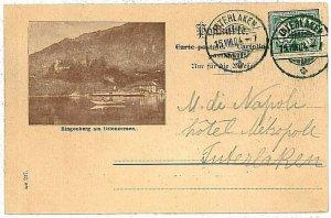Ansichtskarten Schweiz VINTAGE POSTCARD: SWITZERLAND - RINGENBERG am BRIENZERSEE