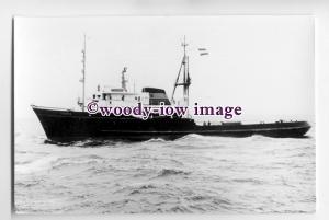 cb0700 - Dutch Smit Tug - Thames , built 1961 - postcard