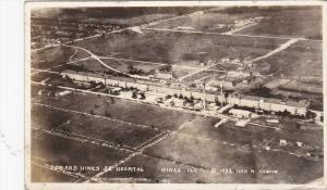 RP: Aerial View of Edward Hines Jr. Hospital, Hines, Illinois, 1941 PU