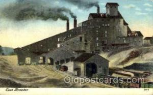 Coal breaker Mine, Mining, Postcard Postcards  Coal breaker