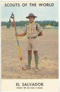Scouts Of The World, El Salvador, 1968