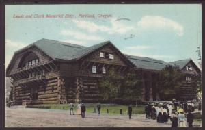 Lewis and Clark Memorial Building,Portland,OR Postcard