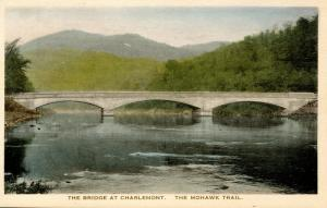 MA - Berkshires, Mohawk Trail. The Bridge at Charlemont