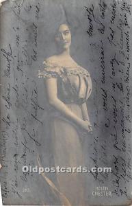 Helen Chester Theater Actor / Actress 1905