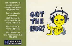VANCOUVER , B.C., Canada, 40-60s; Miller Electronics Got the Bug?