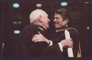 Ronald Reagan and Pat O'Brien Post Card 3591