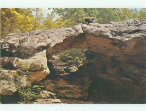 Unused Pre-1980 BRIDGE SCENE Eureka Springs Arkansas AR HQ8732