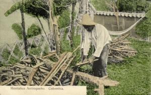 colombia, ANTIOQUIA, Montañes Antioqueño (1910s)