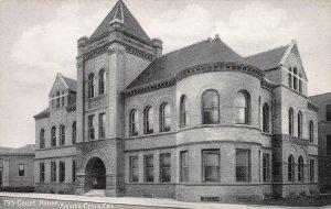 Court House, Santa Cruz, California, early postcard, unused