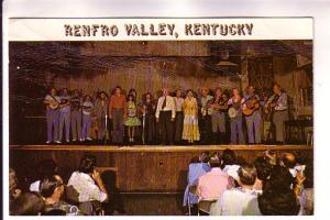 Group of Country and Western Singers, Guitars, Banjos, Audience, Renfro Valle...