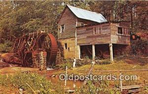Greetings from Georgia Water Wheel Postcard Postcard Post Card Greetings from...