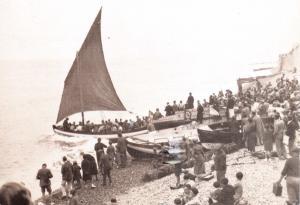Vintage Repro Postcard Henry Ramey Upcher Sheringham Lifeboat, Norfolk #661