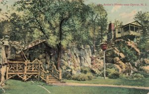 DOVER , New Jersey , 1908 ; Artist's Home