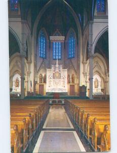 Unused Pre-1980 CATHEDRAL OF THE HOLY CROSS CHURCH INTERIOR Boston MA A7150-12