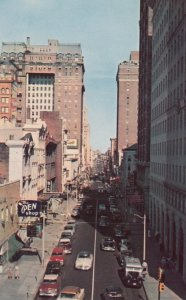 MEMPHIS, Tennessee , 1956 ; Madison Avenue Looking East