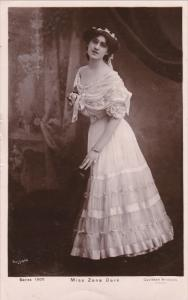 RP; English singer and actress, Miss Zena Dare, PU-1907