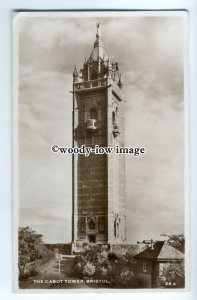 tp9006 - Bristol - The Cabot/Coit Memorial Tower c1952, in Bristol - Postcard
