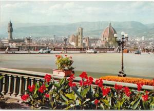 FLORENCE, FIRENZE, Panorama, used Postcard