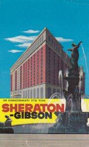 CINCINNATI , New York , 1963 ; Sheraton-Gibson Hotel