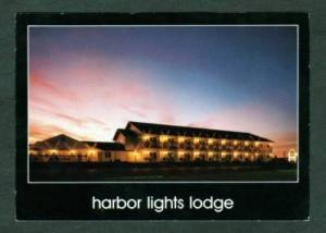 WI Harbor Lights Inn Motel KEWAUNEE WISCONSIN POSTCARD