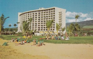 HAWAII, PU-1954; Ocean view at the new Maui Surf on Kaanapali Beach
