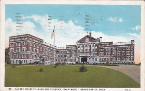 Sacred Heart College and Academy, Marywood, GRAND RAPIDS, Michigan, PU-1932