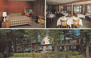 3-views, Hotel Motel Pinacle Lodge, Missisquoi, Quebec,  Canada, PU_1984