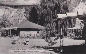 RP, Sandy Beach Lodge, Holiday Resort, Naramata, British Columbia, Canada, PU...