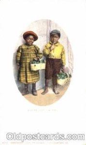 Bashful Billy & Sister Black Americana Unused