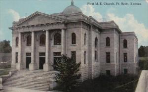 Kansas Fort Scott First M E Church 1914