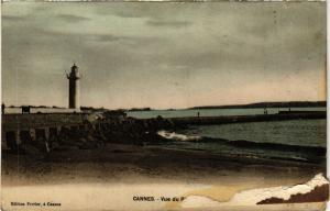 CPA  Cannes - Vue du Phare   (655807)