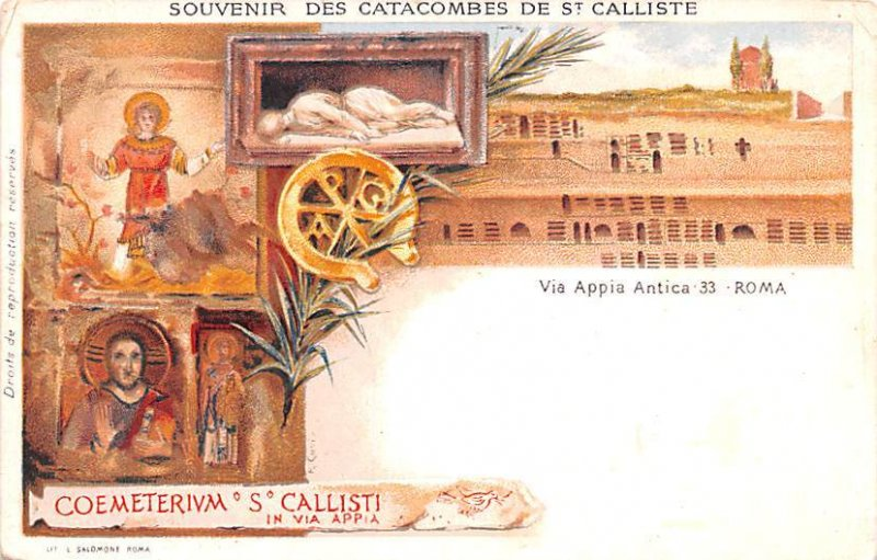 Catacombes de St Calliste Italy Unused