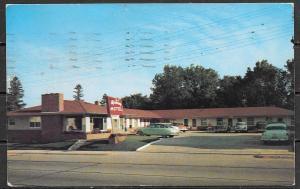 1955 Minnesota, Alexandria, Upton Motel, mailed to Czechoslovakia