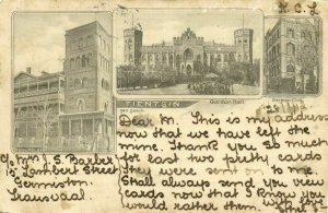 china, TIENTSIN TIANJIN 天津, Astor House, Gordon Hall, German Club 1899 Postcard