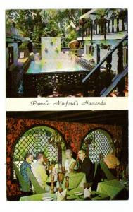Pamela Minford's Hacienda Lodge Restaurant New Hope Pennsylvania postcard