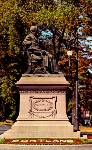 Maine Portland The Longfellow Statue
