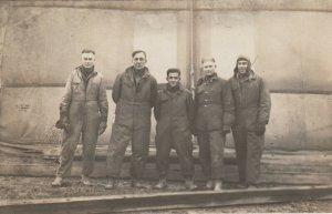 RP: 5 men in overalls, 00-10s