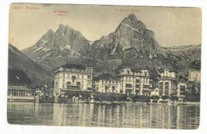 Scene, Brunnen, Lake Lucerne, Switzerland, 1900-1910s