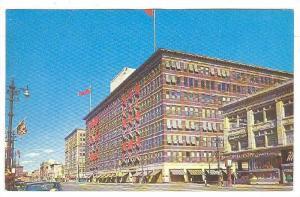 Portage Avenue showing T.Eaton Co., Retail Store, Winnipeg, Manitoba, Canada,...