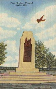 LP15   Dayton   Ohio Postcard Wright Brothers Memorial