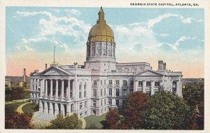 ATLANTA, Georgia, 1900-1910's; Georgia State Capitol