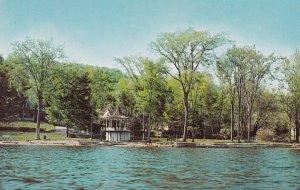 NORTH HATLEY, Quebec, 1950-1960s; Village North Of Lake Massawippi - The Park