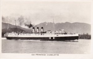 RP; S.S. Princess Charlotte , B.C. , Canada , 1930-40s