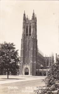 RP, DURHAM , North Carolina, PU-1950 ; Chapel, Duke University