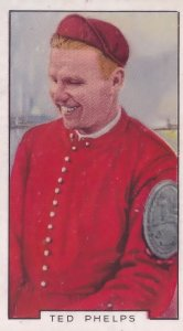 Ted Phelps Cambridge Boat Race Rowing 1930s Cigarette Card