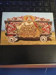 Vintage Postcard:Circus World Museum, Baraboo WI 1903 Bills Wild west show wagon