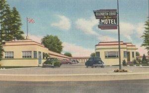 LONDON , Ontario , Canada , 1930-40s ; Elizabeth Court Deluxe Motel