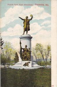 Francisw Scott Keys Monument Frederick Maryland 1911