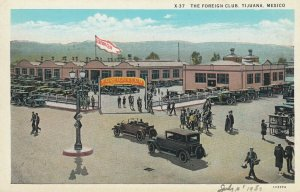 TIJUANA , BC , Mexico , 1920-30s ; Foreign Club